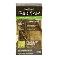 BIOKAP Nutricolor Delicato Natural Medium Blond Gentle Dye 7.0 140 ml  - Přírodní barva na vlasy