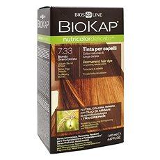 BIOKAP Nutricolor Extra Delicato +  Golden Blond Wheat Gentle Dye 7.33 140 ml             - Přírodní barva na vlasy