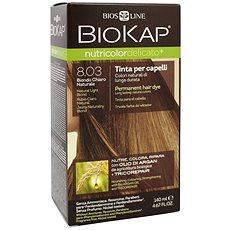 BIOKAP Nutricolor Extra Delicato + Natural Light Blond Gentle Dye 8.03 140 ml            - Přírodní barva na vlasy