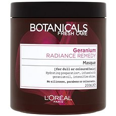 ĽORÉAL PARIS Botanicals Fresh Care Geranium Radiance Remedy 200 ml - Maska na vlasy