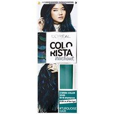 ĽORÉAL PARIS Colorista Washout  Turquoise Hair 80 ml - Barva na vlasy