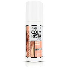 ĽORÉAL PARIS Colorista Spray 1-Day Color Rosegold 75 ml - Barevný sprej na vlasy
