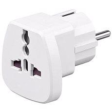 OEM UK->EU Power Adapter bílý - Cestovní adaptér
