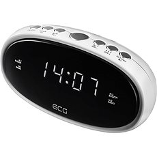 ECG RB 010 bílý - Radiobudík