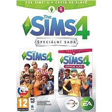 The Sims 4: Cesta ke slávě bundle (Plná hra + rozšíření) - Hra pro PC