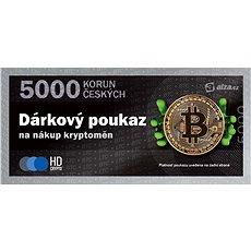 Dárkový poukaz na nákup kryptoměn v hodnotě 5000 Kč - Poukaz
