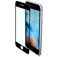 CELLY GLASS pro iPhone 6/6S/7/8  černé - Ochranné sklo
