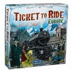 Ticket To Ride - Europe - Společenská hra