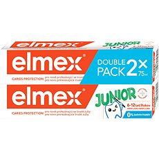 ELMEX Junior duopack 2 × 75 ml - Zubní pasta