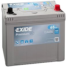 EXIDE Premium 65Ah, 12V, EA654 - Autobaterie