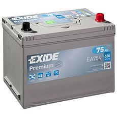 EXIDE Premium 75Ah, 12V, EA754 - Autobaterie