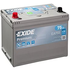 EXIDE Premium 75Ah, 12V, EA755 - Autobaterie