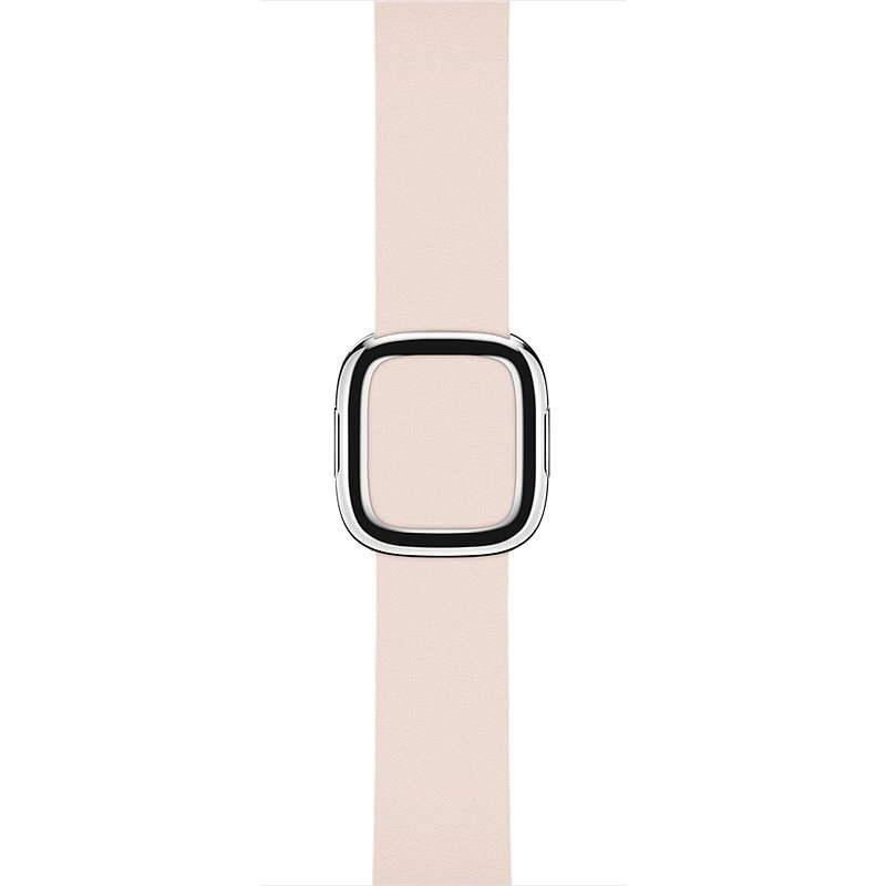 Apple 38mm Bledě růžový s moderní přezkou - Large - Řemínek