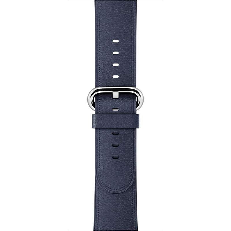 Apple 42mm Půlnočně modrý s klasickou přezkou - Řemínek