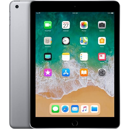 iPad 32GB WiFi Vesmírně šedý 2018 - Tablet