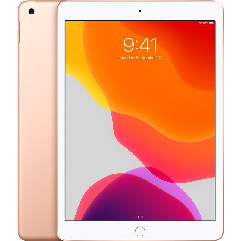 iPad 10.2 32GB WiFi Zlatý 2019 - Tablet