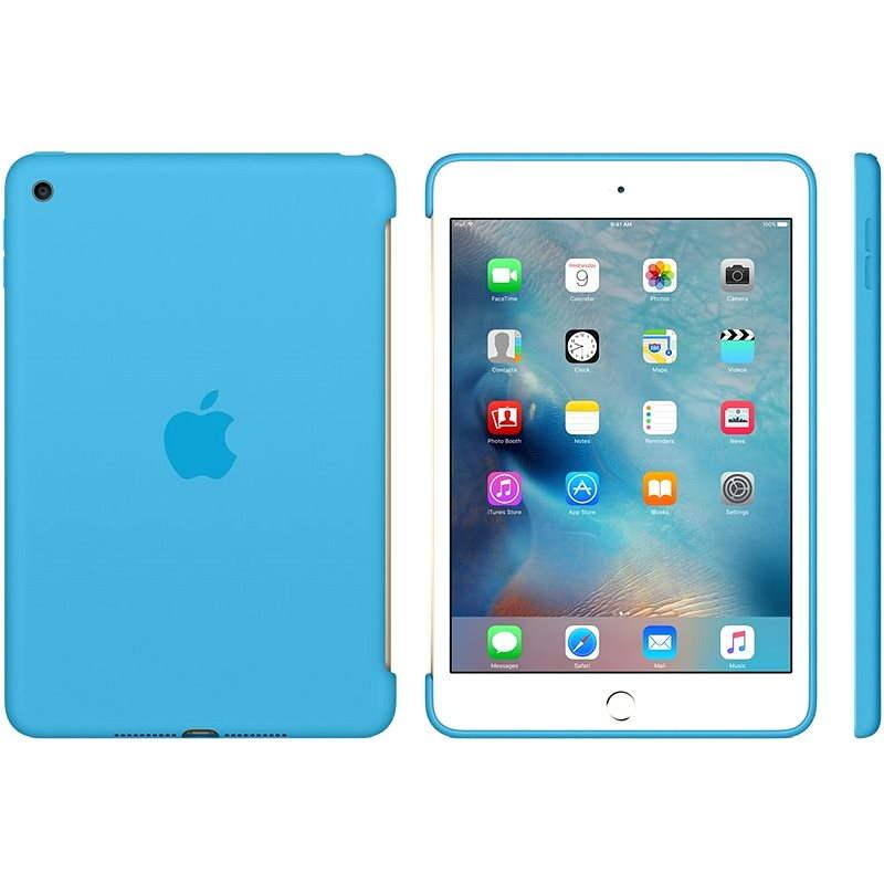 Silicone Case iPad mini 4 Blue - Ochranné pouzdro
