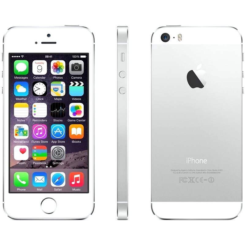 iPhone 5S 16GB (Silver) stříbrný - Mobilní telefon