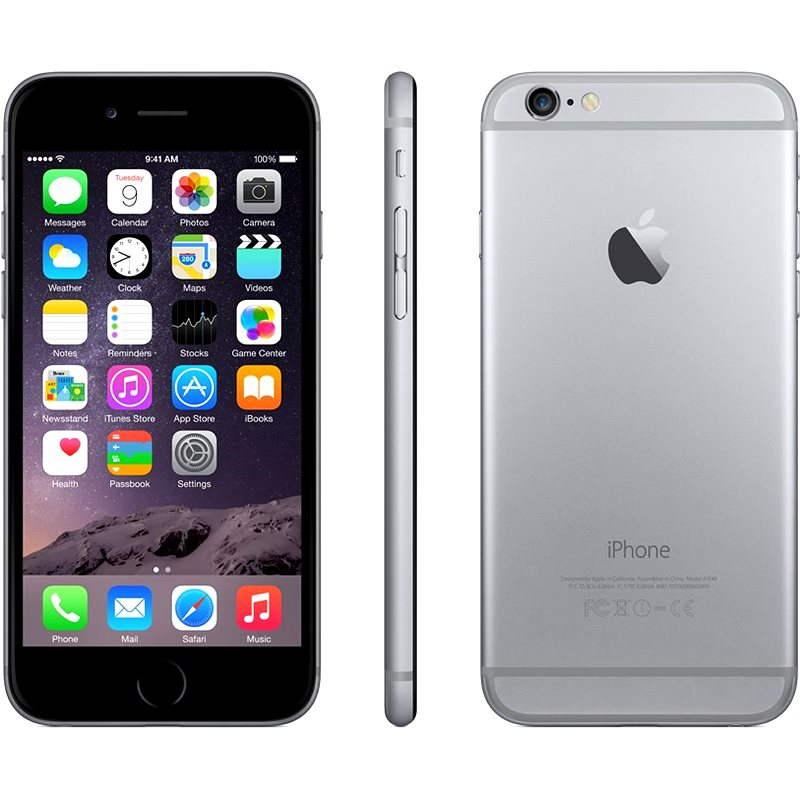 iPhone 6 64GB Space Gray - Mobilní telefon