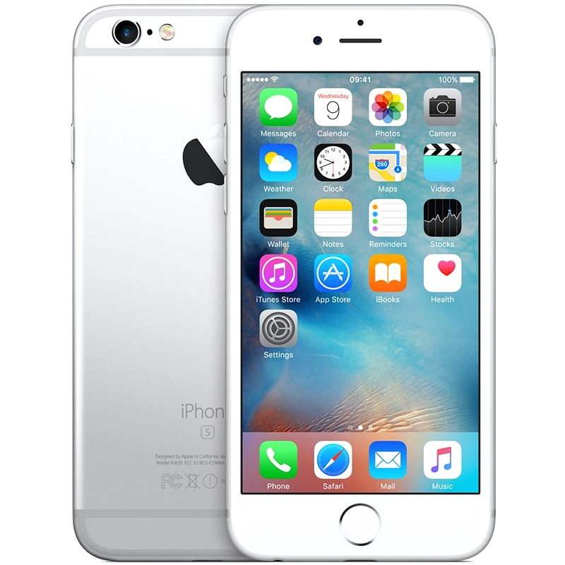 iPhone 6s 16GB Silver - Mobilní telefon