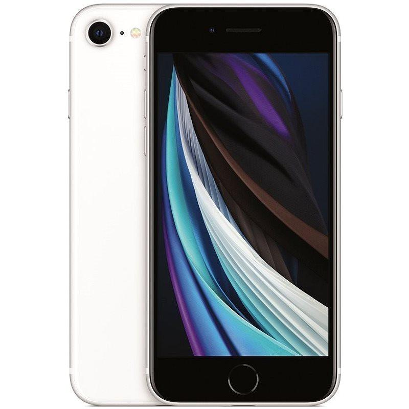 iPhone SE 64GB bílá 2020 - Mobilní telefon