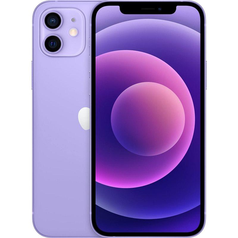 iPhone 12 64GB fialová - Mobilní telefon