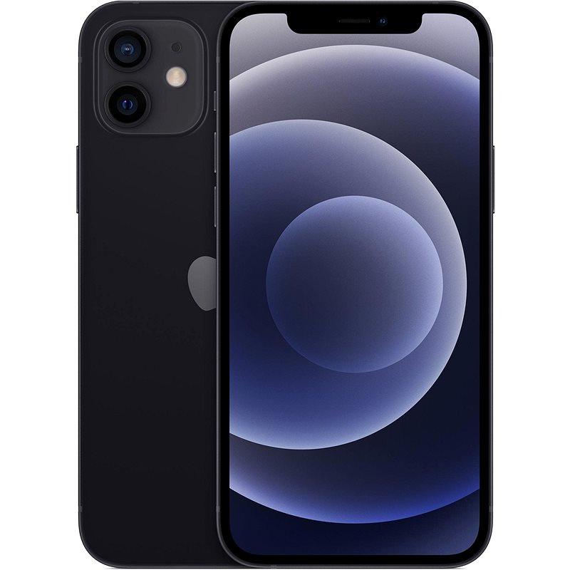 iPhone 12 Mini 64GB černá - Mobilní telefon