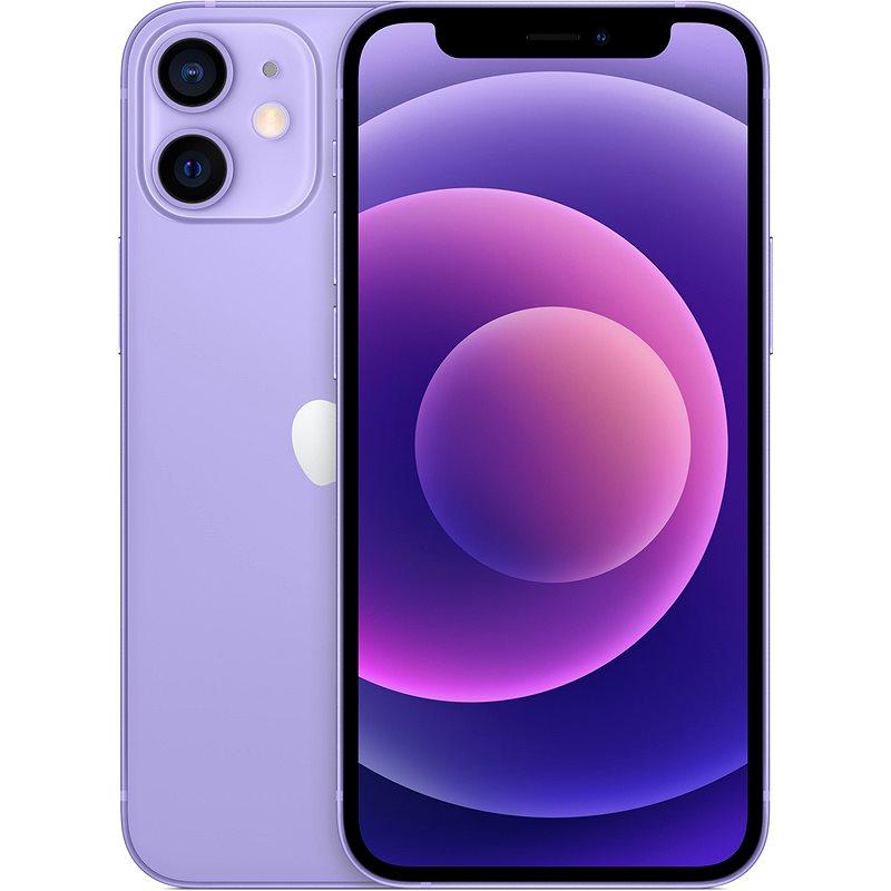 iPhone 12 Mini 64GB fialová - Mobilní telefon