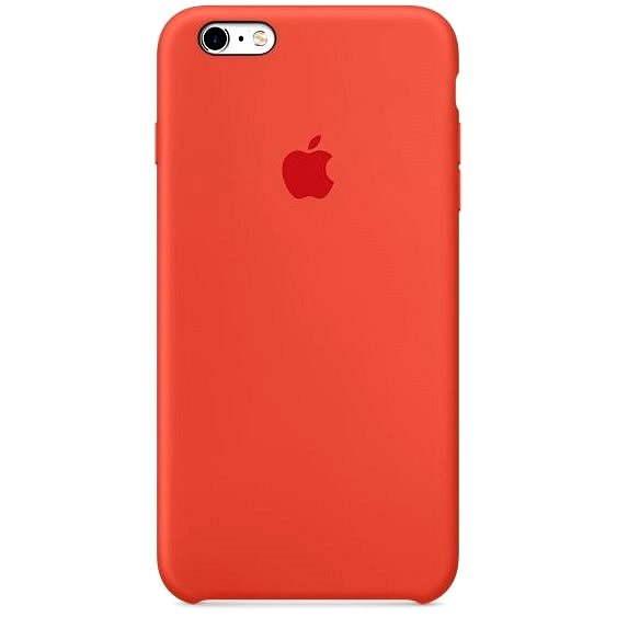 Apple iPhone 6s Plus kryt oranžový - Ochranný kryt