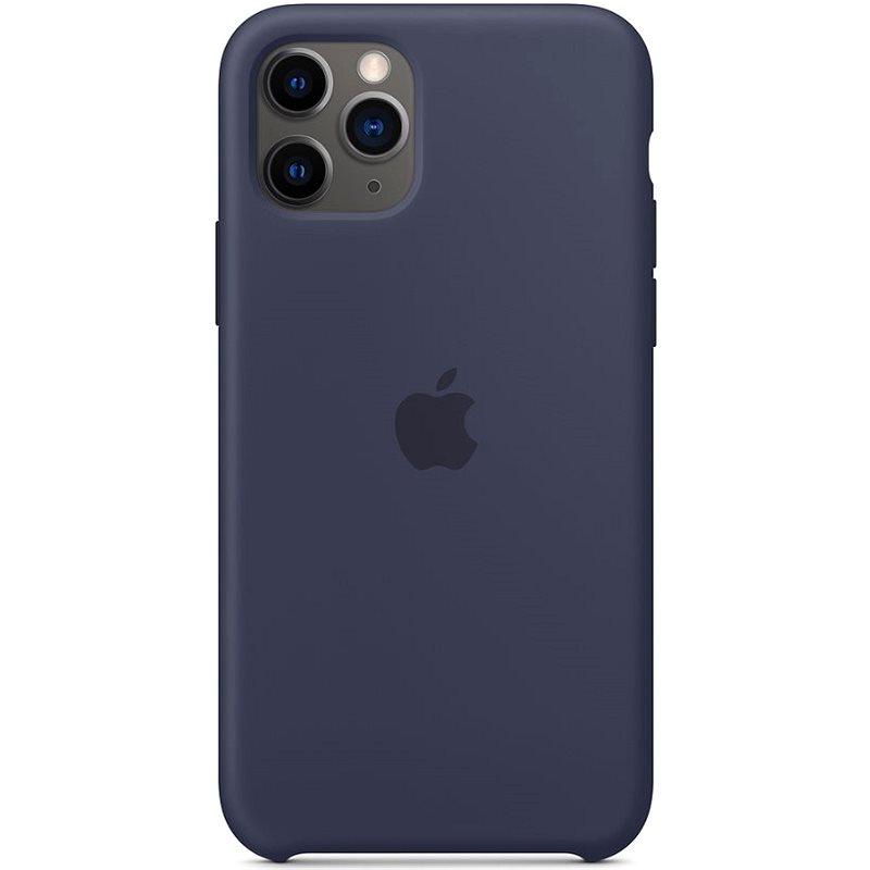 Apple iPhone 11 Pro Silikonový kryt půlnočně modrý - Kryt na mobil