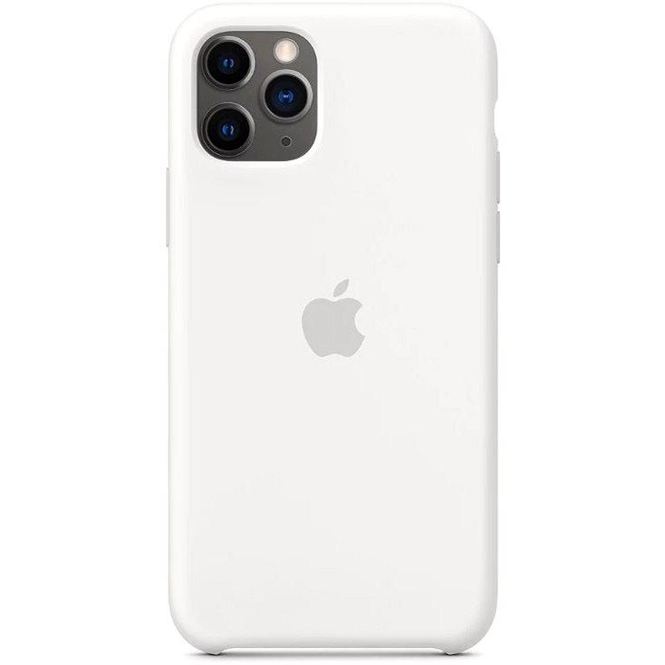 Apple iPhone 11 Pro Silikonový kryt bílý - Kryt na mobil