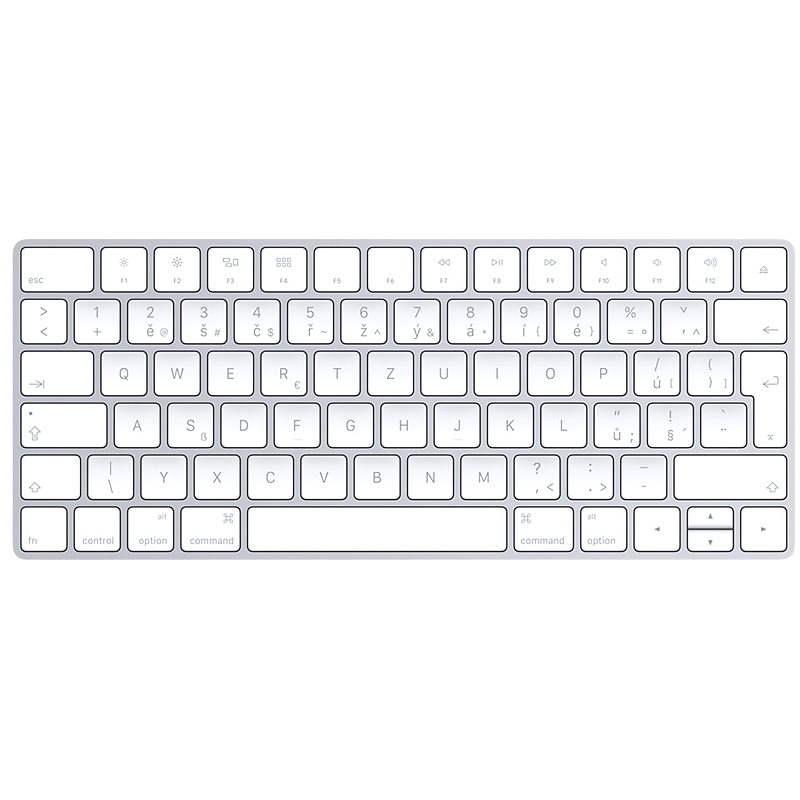 Apple Magic Keyboard CZ Layout - Klávesnice