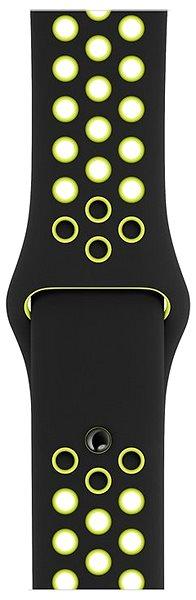 Apple Sport Nike 38mm/40mm Černý/Volt - Řemínek