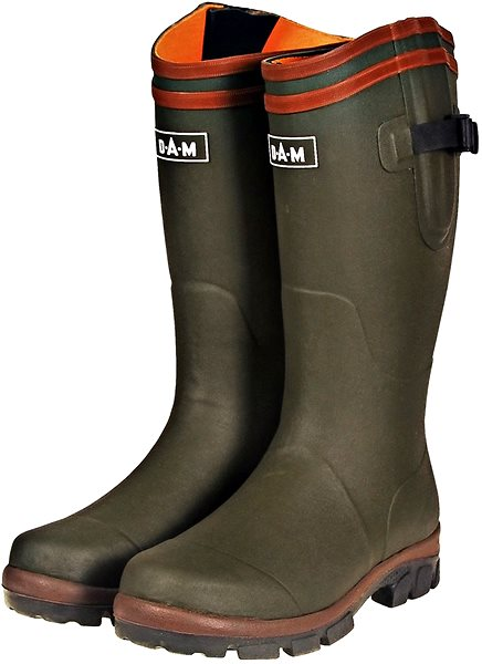DAM Flex Rubber Boots Cotton Lining Velikost 40 - Holínky  f5d86915969
