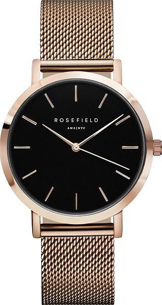031394de6 ROSEFIELD The Mercer Black Rosegold - Dámské hodinky | Alza.cz