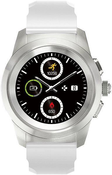 MyKronoz ZeTime Original Silver White - 44 mm - Chytré hodinky  f4e475a5e42