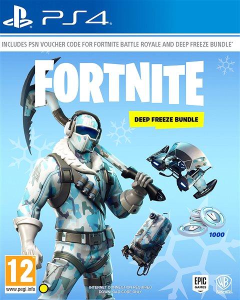 fortnite deep freeze bundle ps4 hra pro konzoli - hra fortnite na ps4