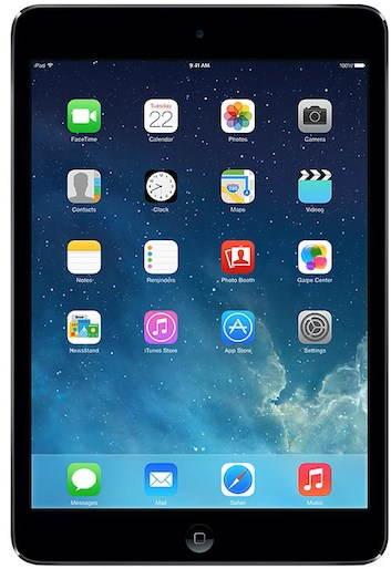 iPad mini 16GB WiFi Space Gray & Black - Tablet