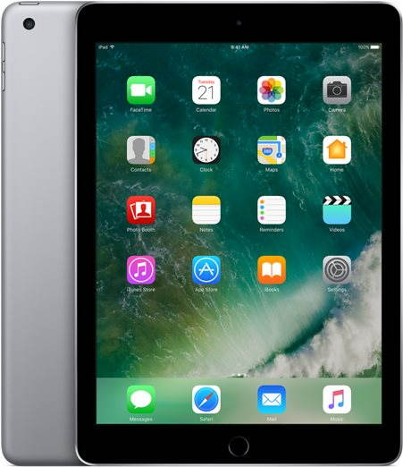 iPad 128GB WiFi Vesmírně šedý 2017 - Tablet