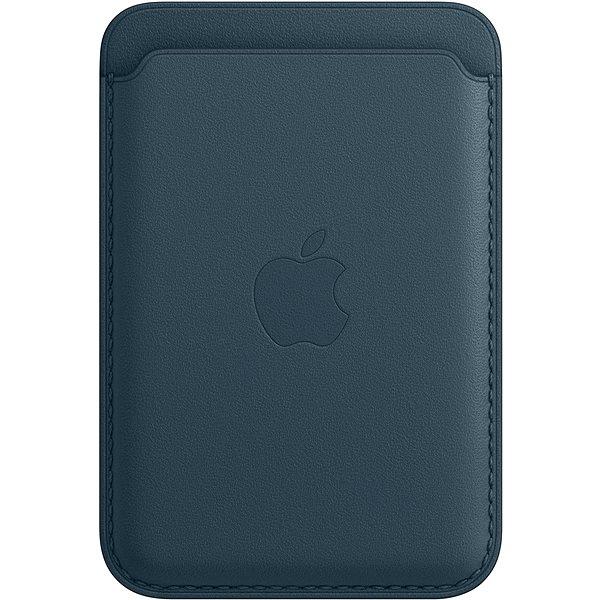 Apple Kožená peněženka s MagSafe k iPhonu baltsky modrá - Peněženka