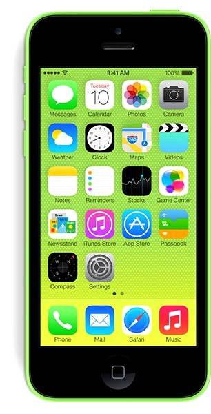 iPhone 5C 16GB (Green) zelený EU - Mobilní telefon