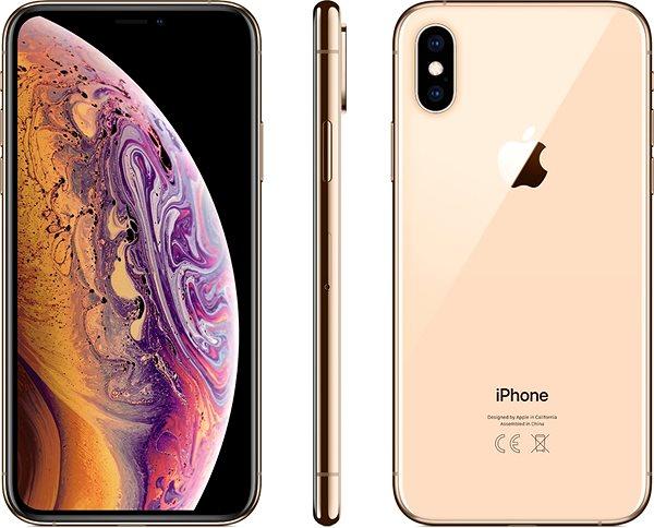 iPhone Xs 256GB zlatá - Mobilní telefon