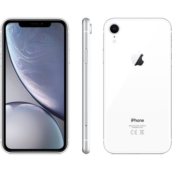 iPhone Xr 64GB bílá - Mobilní telefon