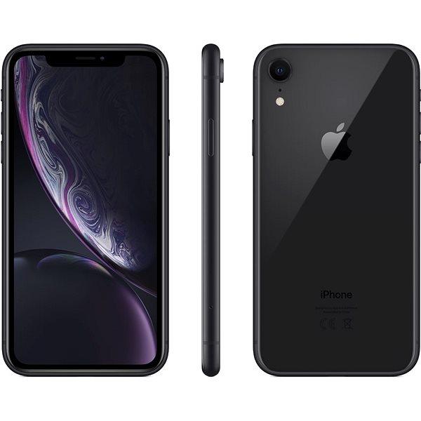 iPhone Xr 64GB černá - Mobilní telefon