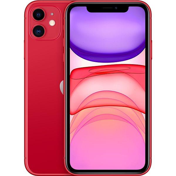 iPhone 11 64GB červená - Mobilní telefon