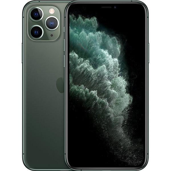 iPhone 11 Pro 512GB půlnoční zelená - Mobilní telefon