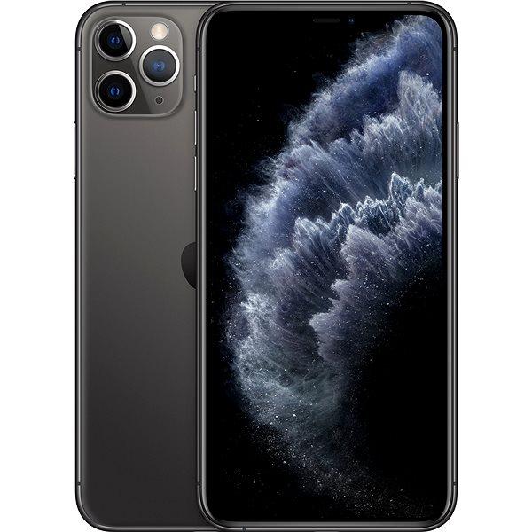 iPhone 11 Pro Max 64GB vesmírně šedá - Mobilní telefon