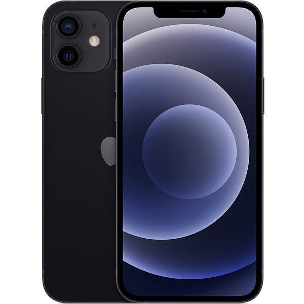 iPhone 12 128GB černá - Mobilní telefon