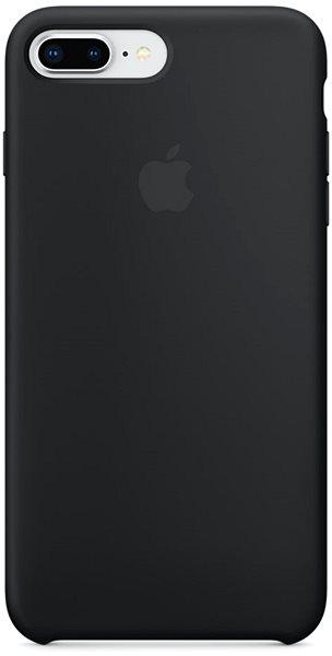 Apple iPhone 8 Plus/7 Plus Silikonový kryt černý - Kryt na mobil