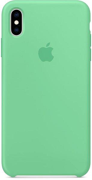 Apple iPhone XS Max Silikonový kryt mátový - Kryt na mobil